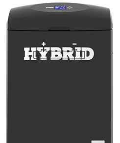 Front on photo of the Hybrid System