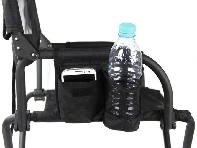 Front Runner Expander Chair showing drink & phone holder