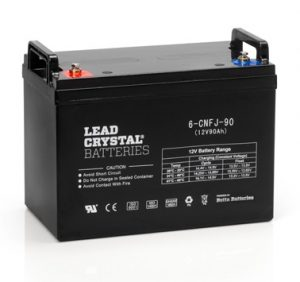 Lead Crystal Battery_6-CNFJ-90