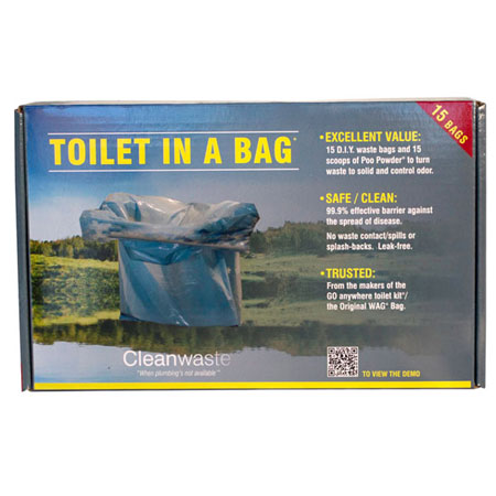 Toilet-in-a-bag