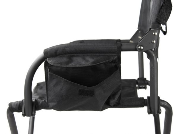 Front Runner Expander Chair_side view showing magazine bag