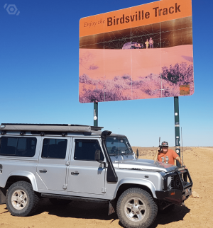 satellite phone birdsville track