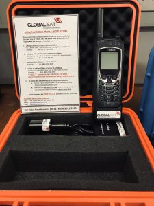 satphone rental / hire iridium extreme