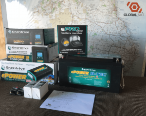 Enerdrive Lithium Battery System Bundle