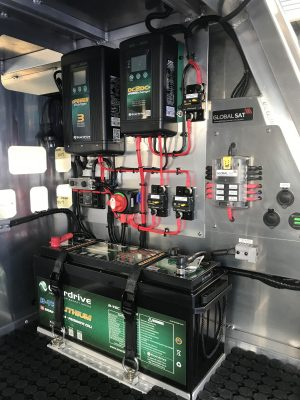 Enerdrive 200Ah Lithium Battery System in Norweld Canopy